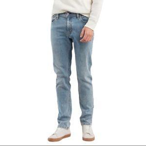 Levi's 511 Stonewashed Slim Fit Jeans Blue 34 x 30